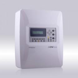 Centrale d'alarme incendie 4 Zones conventionnel avec LCD, Marque Dmtech