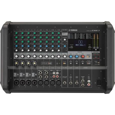 Emx7 table de mixage amplifi e distributeur exclusif yamaha ast securite for Table yamaha